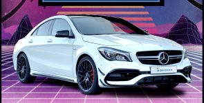 Win a New Mercedes AMG CLA45