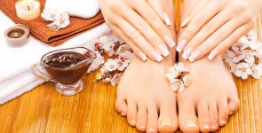 Summer Sun Manicure & Pedicure