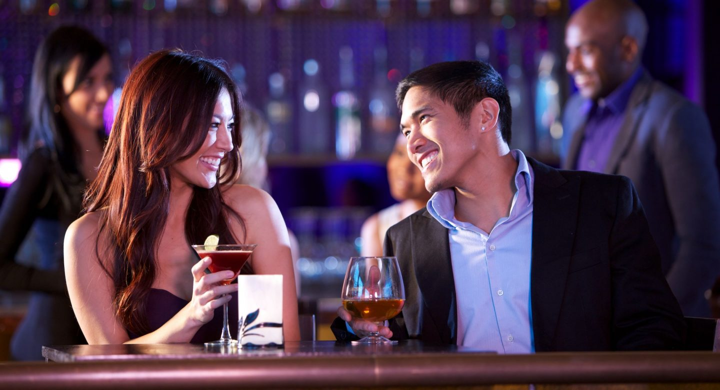 Couple Enjoying Bar at Morongo Casino Resort & Spa