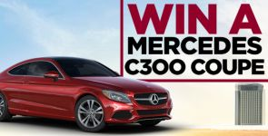Win a New Mercedes C300 Coupe