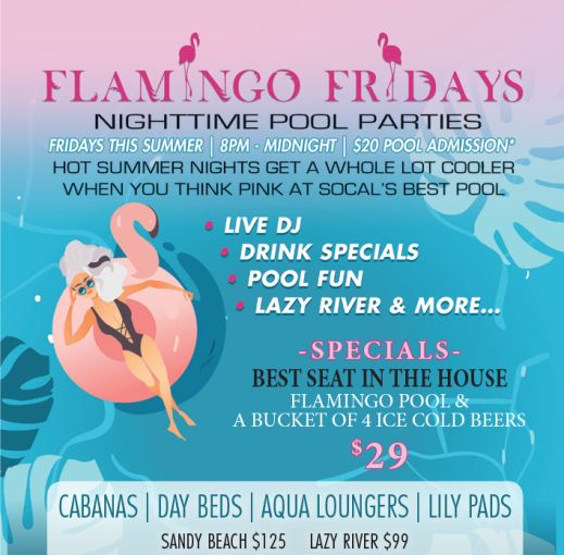 Flamingo Fridays